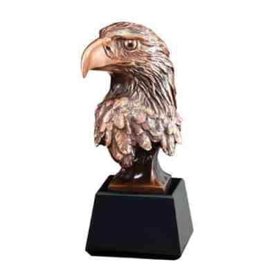 Eagle Head Sculpture