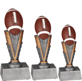 Value Football resin trophies