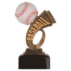 Baseball Resin Trophy