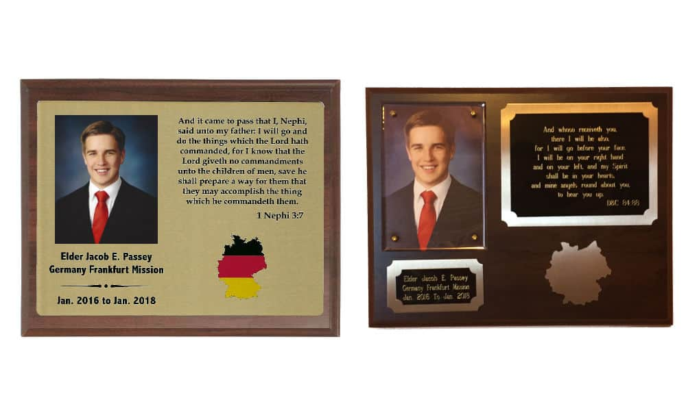 Missionary Plaques