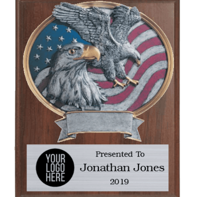 Legends Eagle Plaque