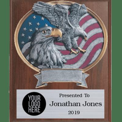 Legends Eagle Plaque