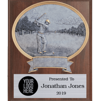 Legends Golf Plaque