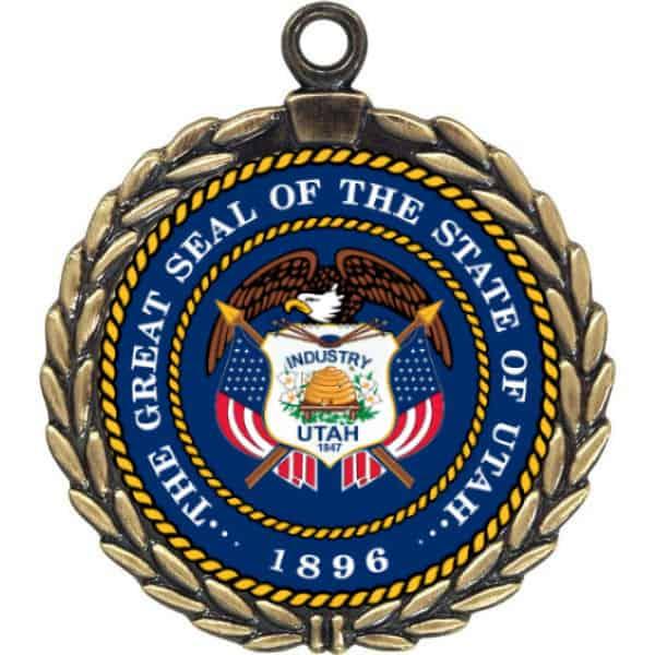 Wreath Custom Medals | Gem Awards