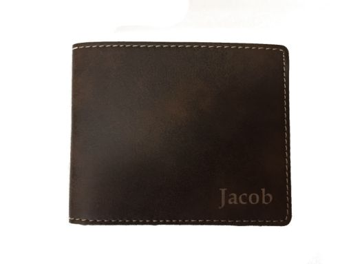 Personalized Wallet with Engraving