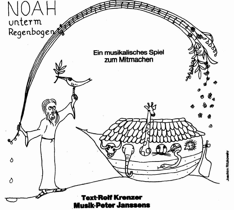Noah Unterm Regenbogen