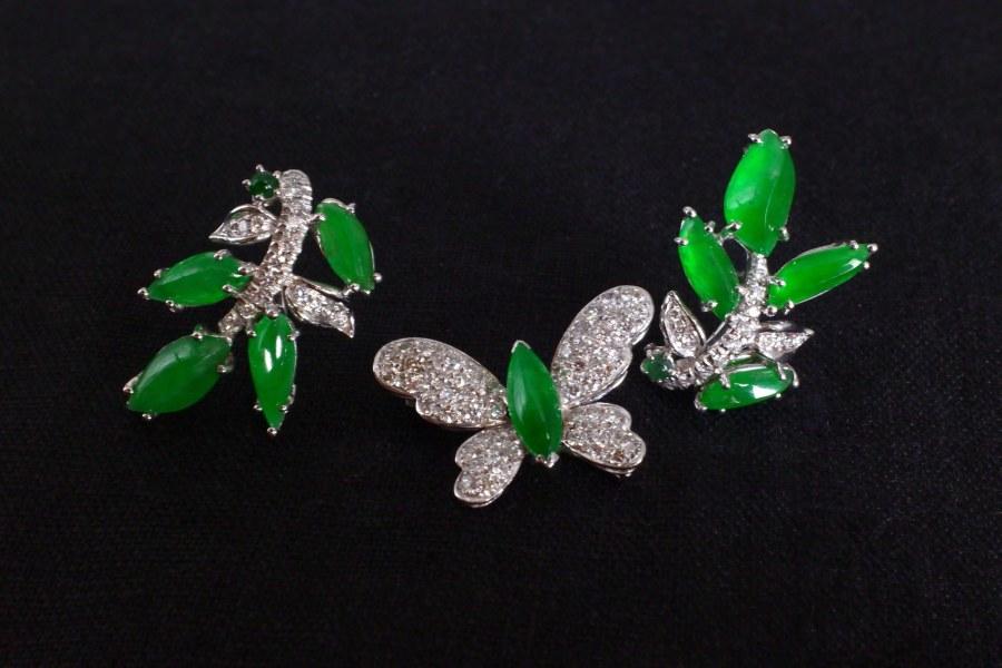 Gem Gardener, jadeite earrings singapore, fine jewelry jade earrings, jade jewellery singapore, jade jewelry singapore, apple green jade jewelry, fine jade jewelry, fine jade jewellery, buy jade jewellery online