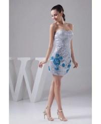 Sheath Sweetheart Short Sequined Prom Dress #OP41007 $120 ...