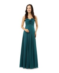 Sheath Sweetheart Floor-length Bridesmaid Dress #CY0248 ...