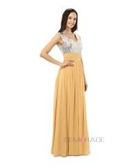 Sheath V-neck Floor-length Prom Dress #CY0261 $142 ...