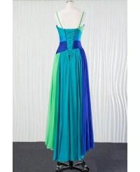 Different Blue Chiffon Bridesmaid Dress for Summer Beach ...