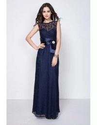 Beautiful Navy Blue Petite Semi Formal Dresses with Full ...