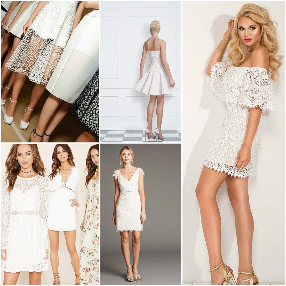 bridal dresses simple short