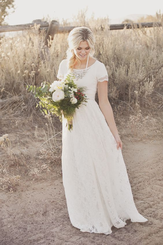 sleeve wedding dresses