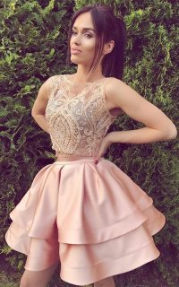 Top 37 Two Piece Short Homecoming Dresses Are Going Viral ...