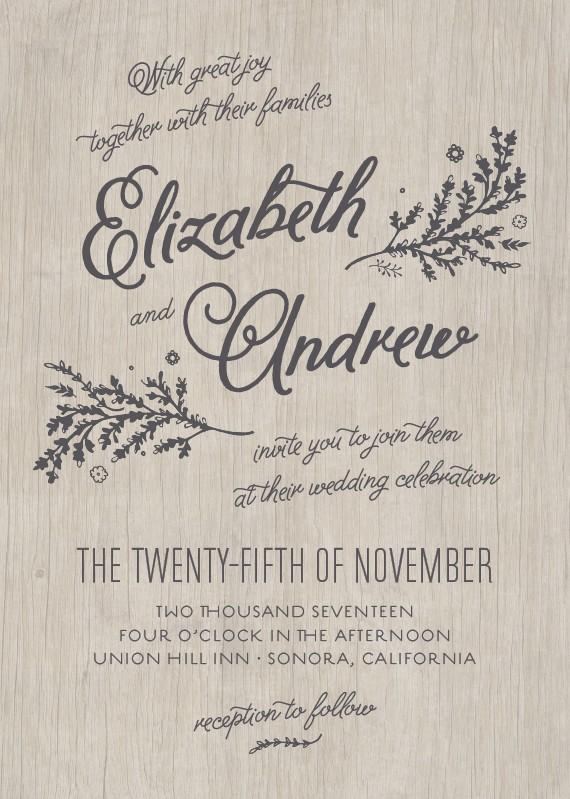 Get Inspired from 10 Wedding Invitation Styles for Second Marriage  GemGrace
