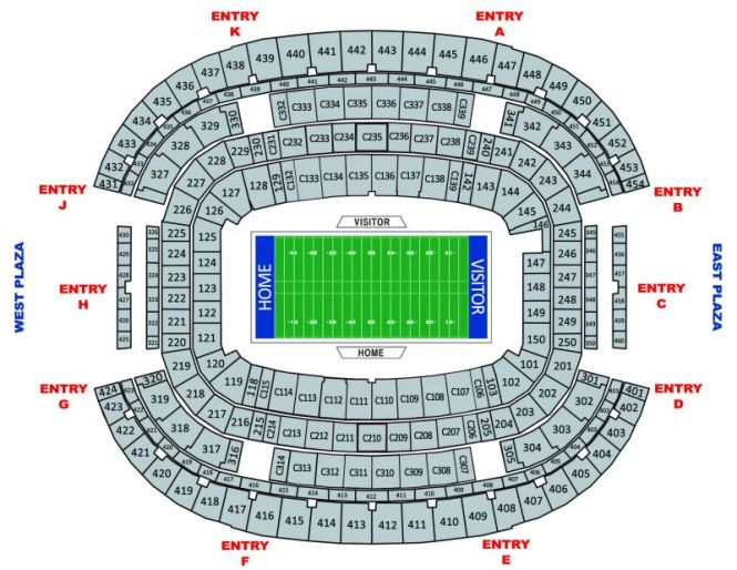 At T Stadium Seating Plan | Cabinets Matttroy