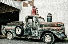 old classic truck