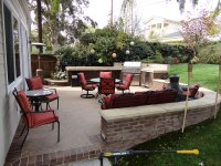 Outdoor Patio BBQ and Entertainment Area | Gemini 2 ...