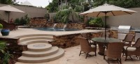 Entertainment Backyard with Pool and Spa | Gemini 2 ...