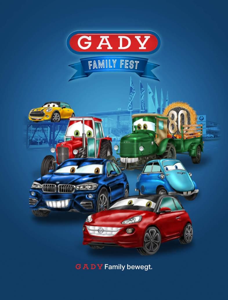Autos Gady Family Fest