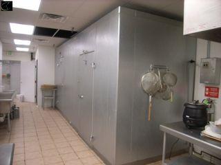 walk in cooler freezer installation