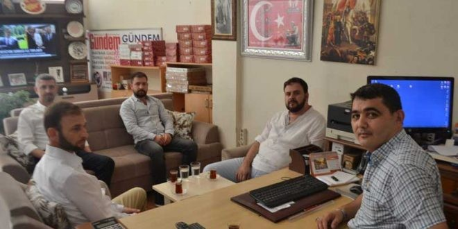 Saadet Partisi Basın Bayramı Dolasıyla Gazetemizi Ziyaret Etti