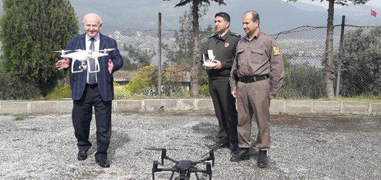 Gemlik Dronlar'la izlenecek huzur ve asayiş gelecek