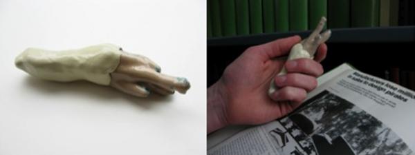 5. apertura5. copper, enamel, polymer clay, paint