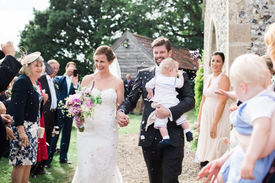 Polstead church wedding photos
