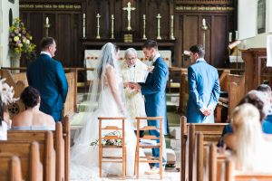 Essex church wedding