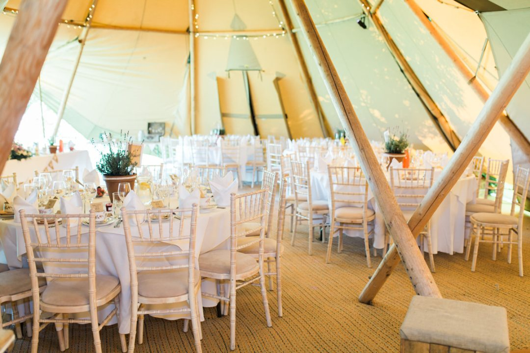 Coggeshall tipi wedding