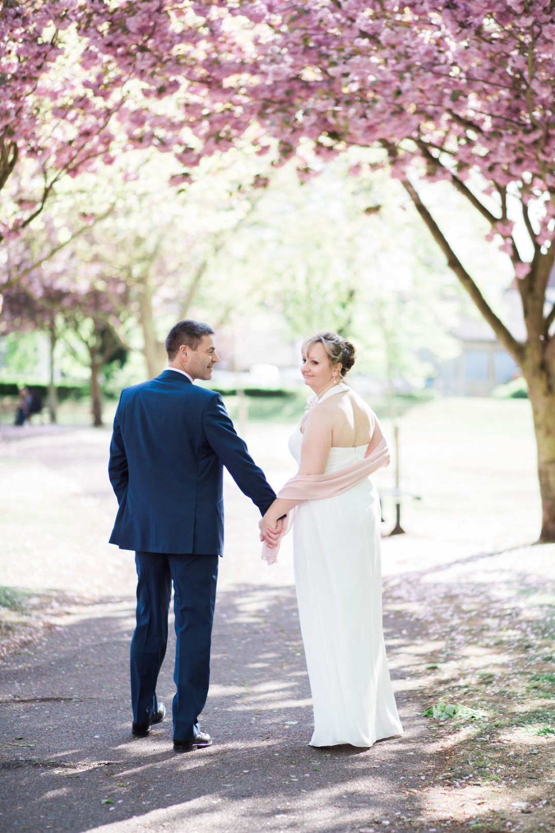 Colchester spring wedding