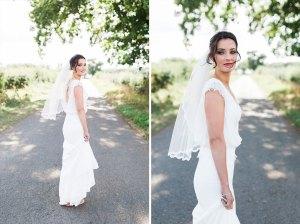 Bride at The Compasses at Pattiswick