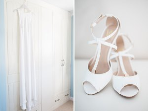 White Primark wedding shoes