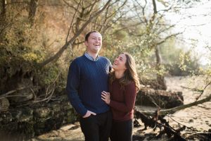 Wrabness engagement shoot