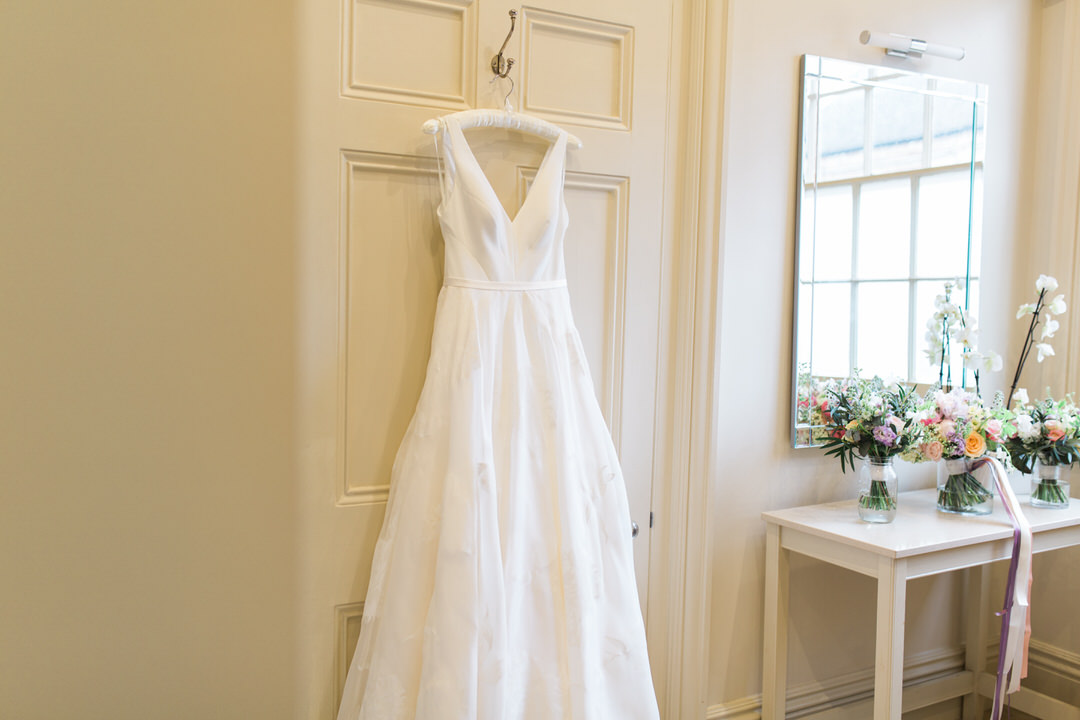 Braxted park wedding bridal suite