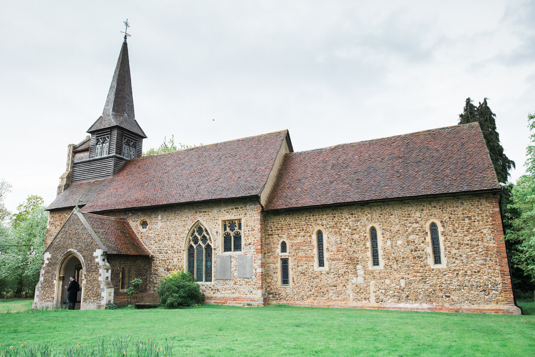 Braxted church wedding