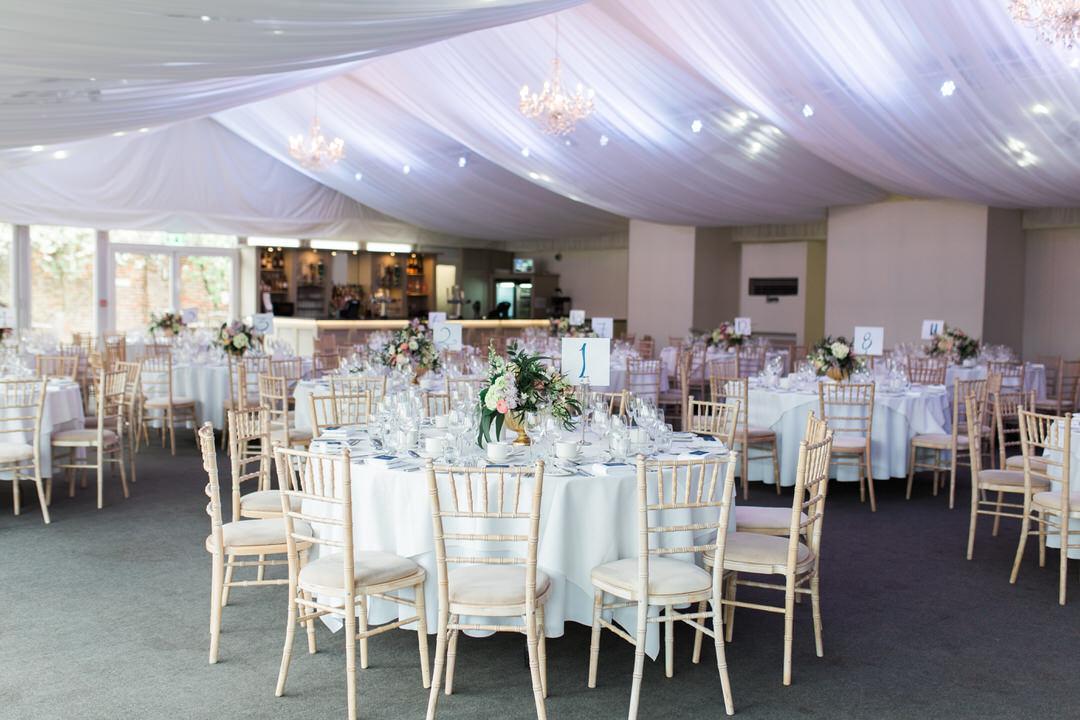 braxted park wedding venue reception room