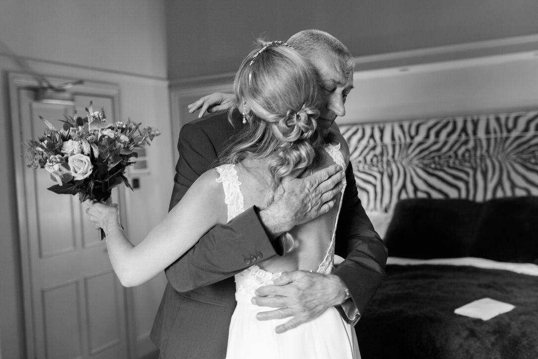 Milsoms hotel Dedham bridal prep