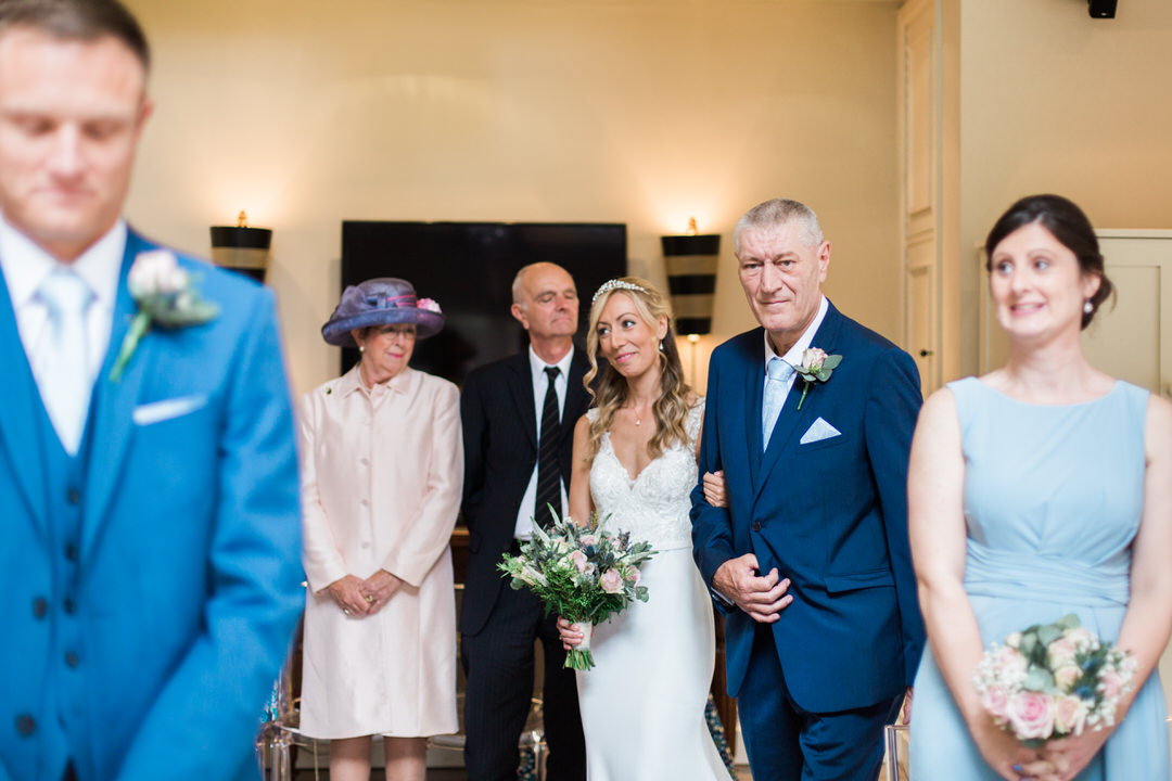 Maison Talbooth wedding