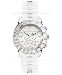 Christian Dior Christal Chronograph Ladies Watch Model