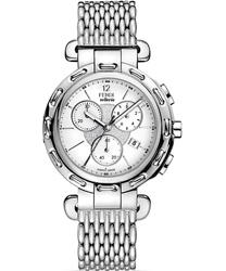 Fendi Selleria Round Ladies Watch Model: F89034HBR8153