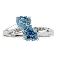 Blue Topaz Rings Blue Topaz Gemstone Rings Blue Topaz Gold ...