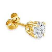 Men's Stud Earrings Black Stud Earrings For Men Diamond ...