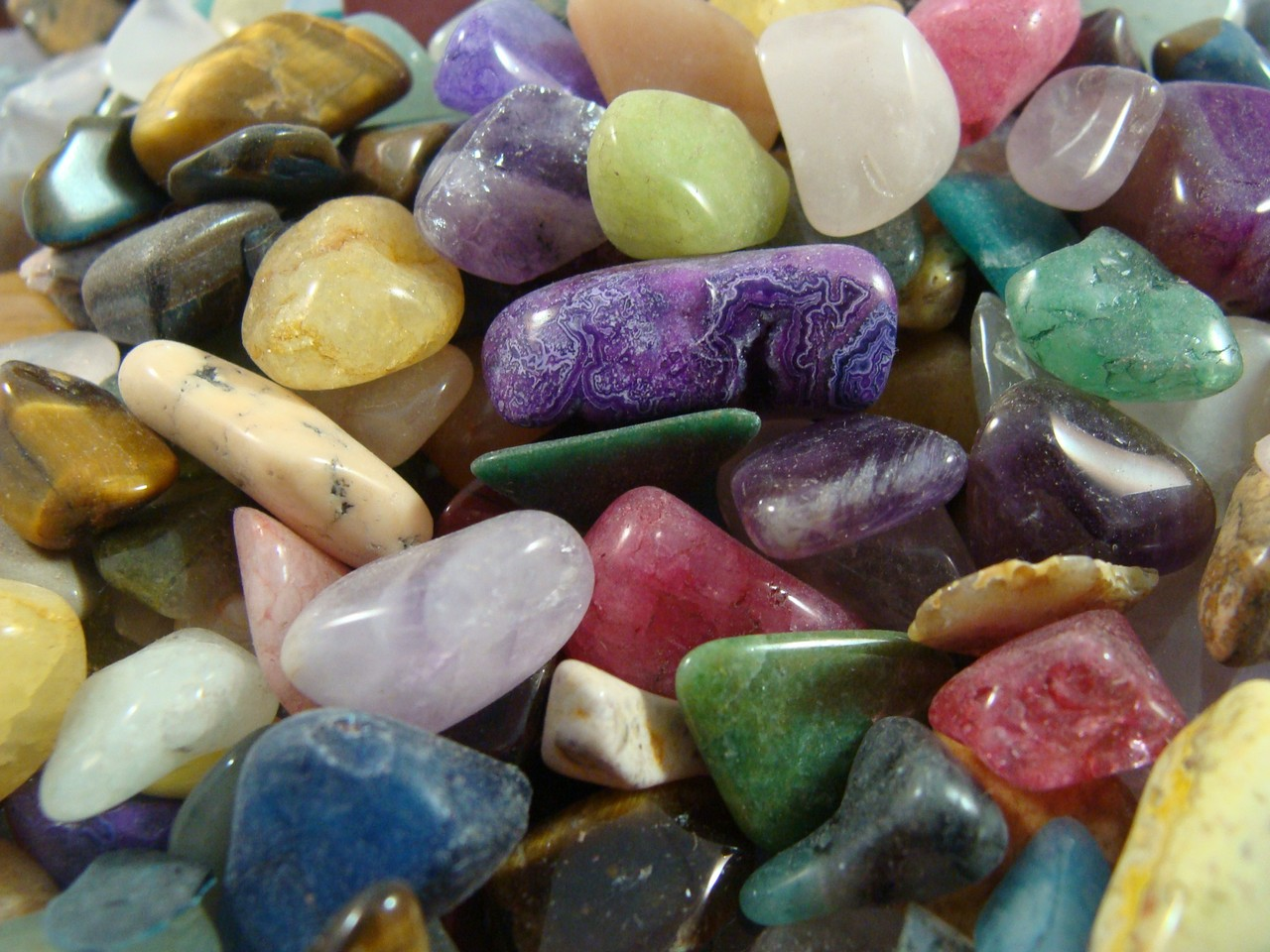Polished Gemstones for Sale  Tumbled Stones by the Pound
