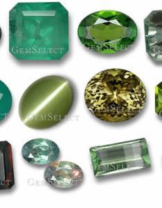 Green gemstones from gemselect also list of precious  semi rh