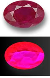 Fluorescent Gems