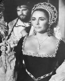 Elizabeth Taylor wearing the Pearl