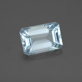 23ct Light Blue Aquamarine Gem From India Karur Natural